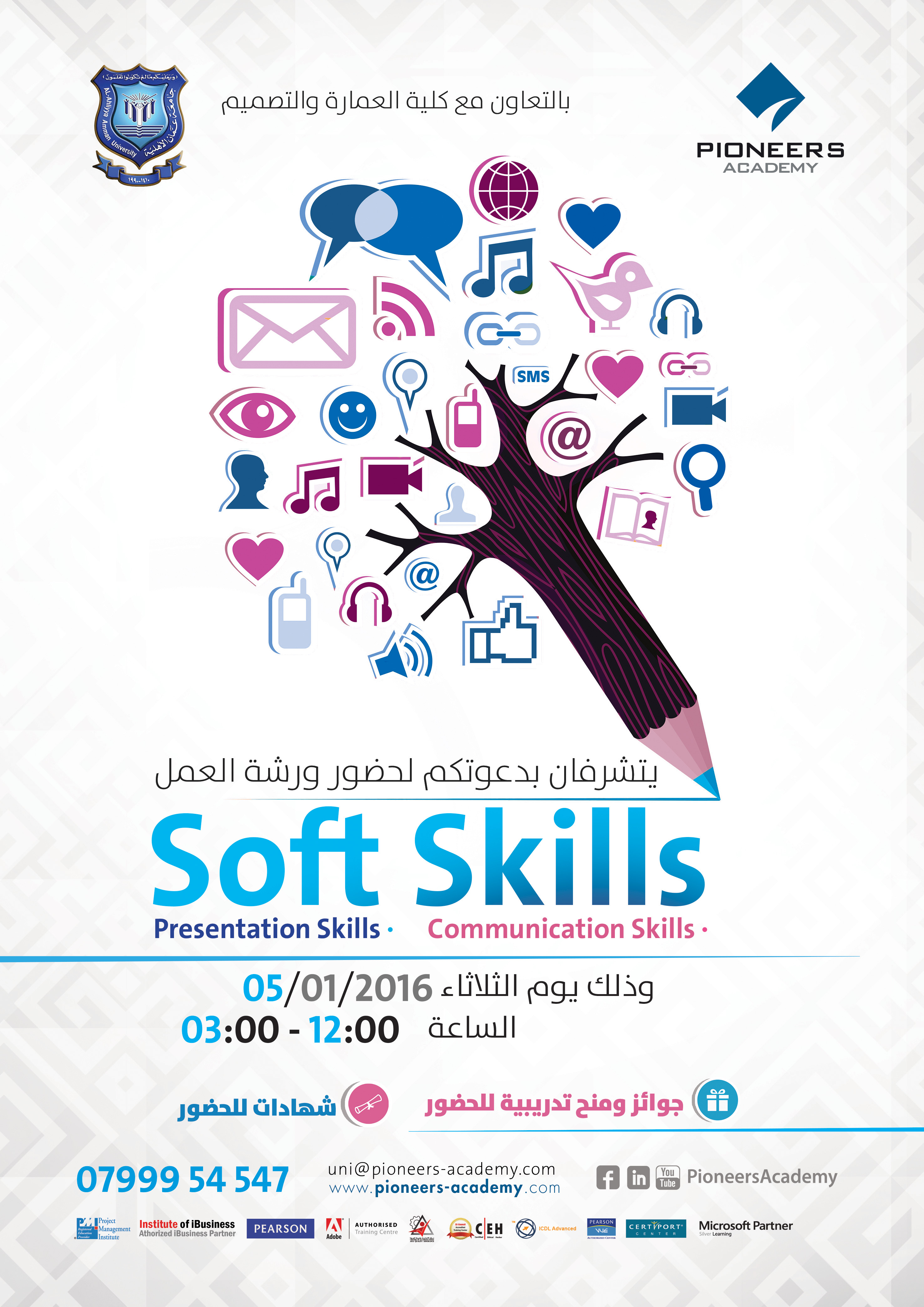 softskills عمان الأهلية poster jpg soft skills workshop which will be held on tuesday 05 01 2015 at 12 00 noon at nizar qabbani amphitheatre the workshop will include intensive lectures