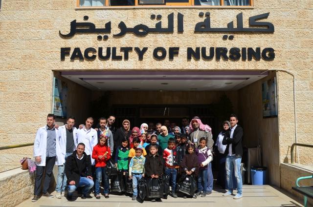 رئيس جامعة عمان الأهلية يلتقي أعضاء ...