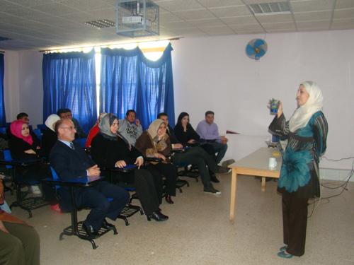 محاضرة في إدارة الوقت في جامعة عمان ...
